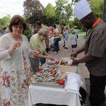 Le buffet 14 Juillet avec le Chef