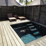 Plunge Pool in the Garden Bungalow