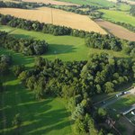 Nowton Park from the air