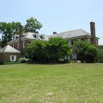 Rear view of Boone Hall