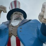 The largest Uncle Sam ever