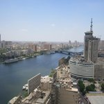 The Nile, viewing from the 25th floor.