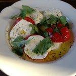 Handmade Mozzarella, Local Tomato and Basil