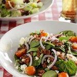 Warm Bacon + Spinach Salad