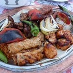 Turkish grilled meat