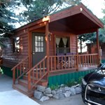 Front view Cozy Cabin #9