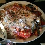 seafood linguine (special of the night)