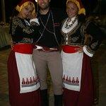 The Greek Night professional dancers
