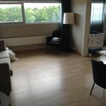 Juniorsuite  - with sofabed, desk and chair.