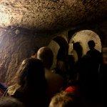 Interior de la ciudad subterranea