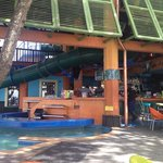 Pool area and bar at Margaritaville...