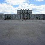 площадь Куйбышева и театр