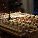 Buffet di dolci... ottimi!