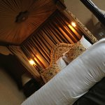Four Poster Bed with Intricate Details