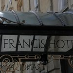 Francis Hotel sign