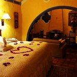 habitacion suite noche romantico