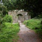 12th century Augustinian church on Inchagoill island of Romanesque design.