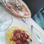 Pranzo y pizza caprichosa