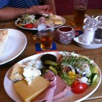 All in ploughman's