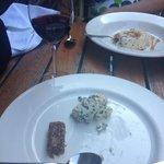 Dessert bluecheese + vijgen + pineau de charentes