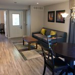 Apartment suite living area. Fully renovated in 2014