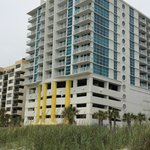 Seaside at North Myrtle. View from ocean