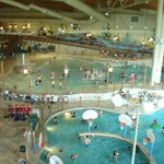 wave pool with salt water plus another pool..fresh water