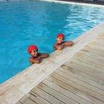 swim caps mandatory