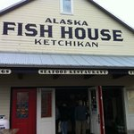 Entry to the Ketchikan Pier located Alsaka Fish House