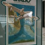 Very old poster of Miami based CHALK's Seaplane airline, check comments for story