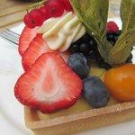 Loved the fruit tart