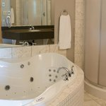 Honeymoon suite jacuzzi tub
