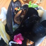 Mussel and fennel broth
