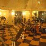 Fitness van het hotel