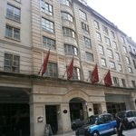An impressive facade