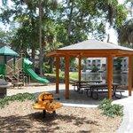 Playground and Pavilion