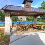 Pavilion & Tennis Court