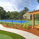 Swing and Tennis Courts