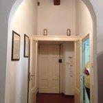 Quad Suite hallway to the bedroom.