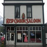 Front of the Red Onion