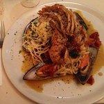 Italian with Morton Bay Bugs.