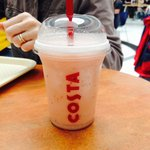 Mmm! Strawberry & Lime Coffee Cooler!