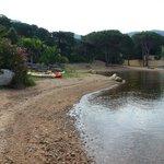 La plage tranquille