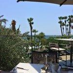 Nu Bar outdoor terrace. Our favourite spot!