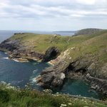 The view from Tintagel ruins