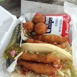 Fish Taco Special from Capt Zacks!