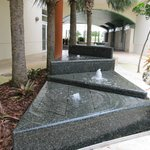 water sculpture/fountains