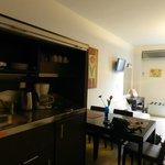 Room view kitchen