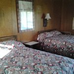 2 double bed rooms