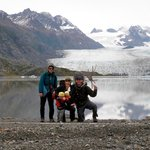Grewingk Glacier Lake, one of many beautiful hiking destination options
